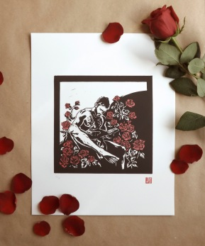 The Reader (Sant Jordi Special Edition 2 inks)